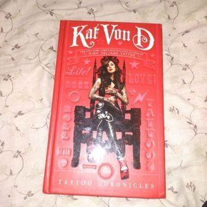 The Tattoo Chronical By: Kat Von D Book, Brand New